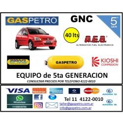 Equipo GNC de 5ta generación con cilindro de 40 litros