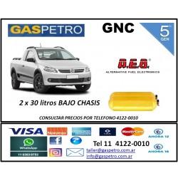 GNC - Equipo de 5ta generación con 2 cilindros de x 30 litros