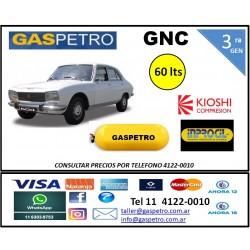 Equipo GNC de 3ra generación con 1 cilindro de 60 litros CONSULTAR PRECIO